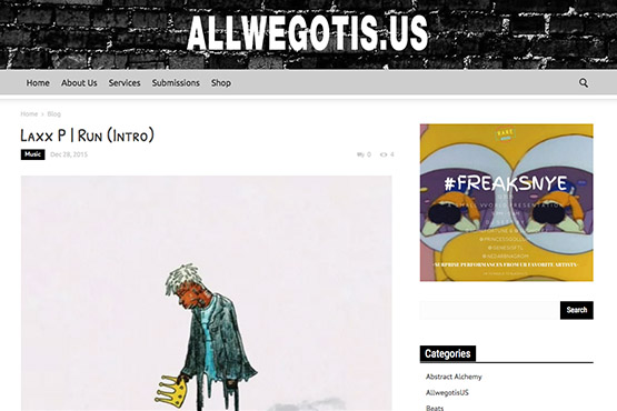 All We Got Is Us - FraisAudio.com