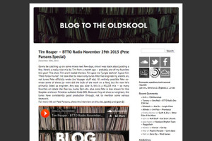 Blog To The Old Skool
